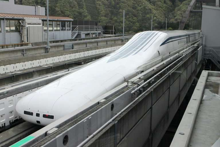 The maglev will whisk people around Japan at twice the speed of the bullet train