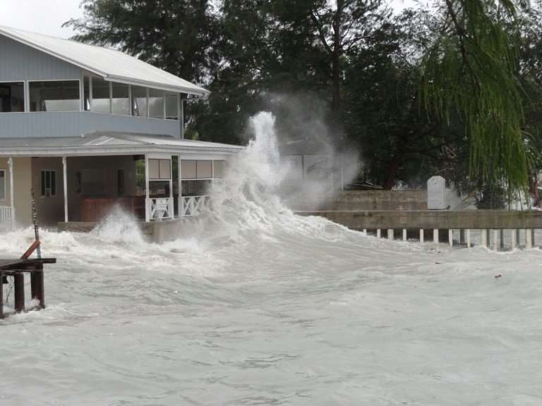 The Marshall Islands, a low-lying Pacific archipelago, will drown beneath rising seas if global warming continues unabated