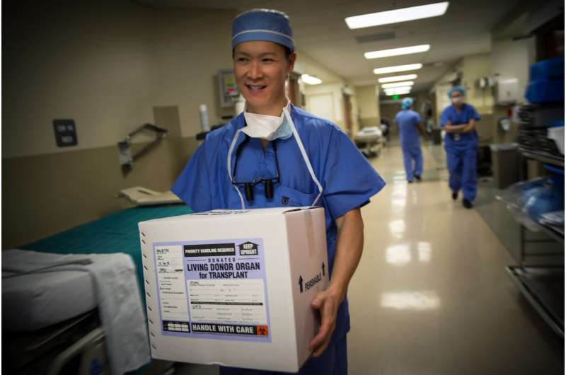 The opioid epidemic has boosted the number of organs available for transplant