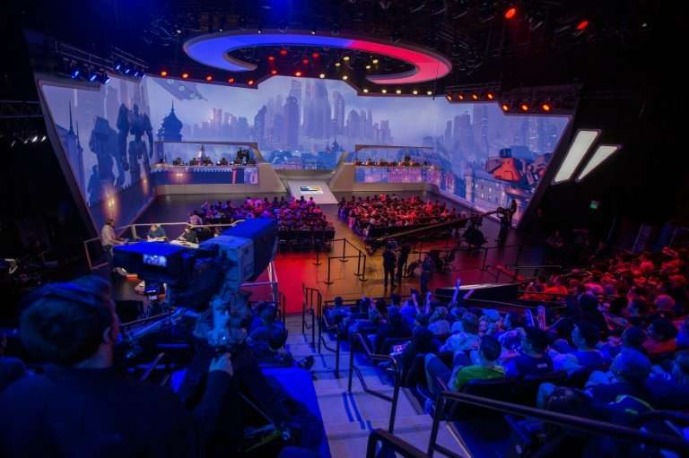 The Overwatch League has drawn crowds for its eSports events of video games a spectator sport