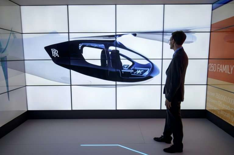 The Rolls-Royce EVTOL plane will seat four or five people, with a flying range of 500 miles (805 kilometres) and a top speed of