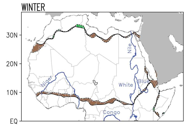 The Sahara Desert is expanding