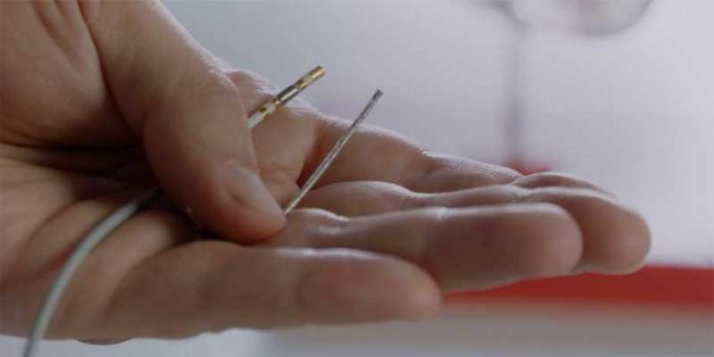 The smallest steerable catheter