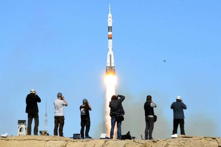 The Soviet-designed Soyuz rocket failed on October 11 just minutes after blast-off