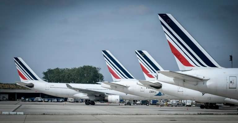 The survival of strike-hit Air France is in the balance, French Economy Minister Bruno Le Maire has warned