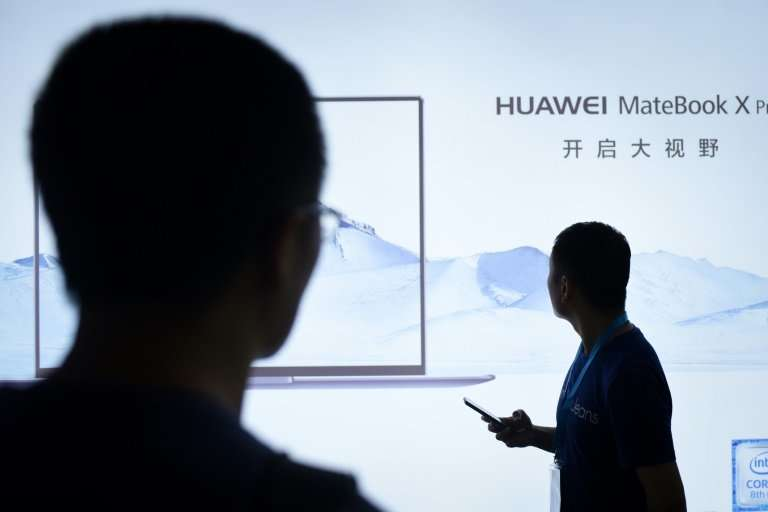 The US reportedly views Huawei equipment as a security risk