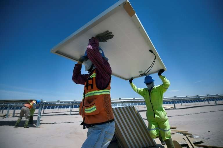 The Villanueva photovoltaic (PV) power plant is the biggest solar project in the world outside China and India
