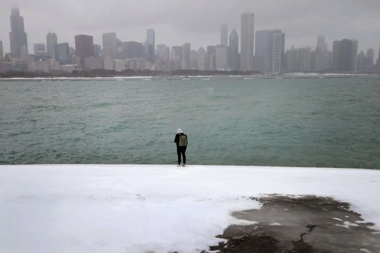 The Windy City (seen in 2017) has not seen this much snow at once since 2011, when a storm quickly dumped about 20 inches of so