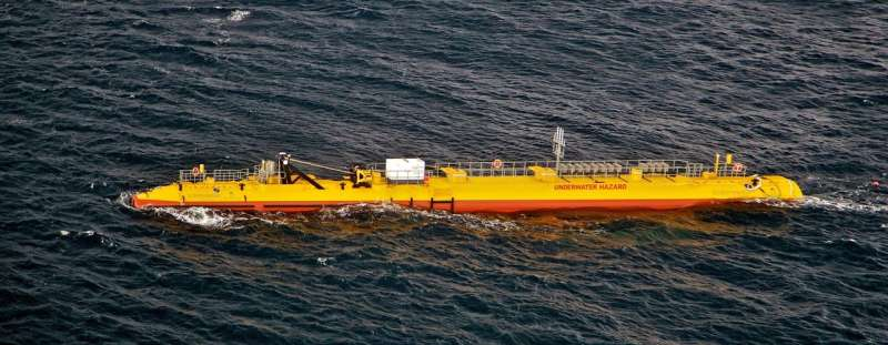 Tidal energy turbine company is showing good results