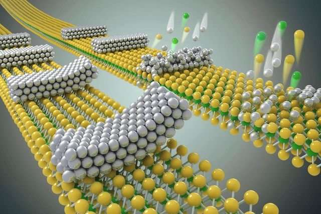 Tiny defects in semiconductors created 'speed bumps' for electrons—researchers cleared the path