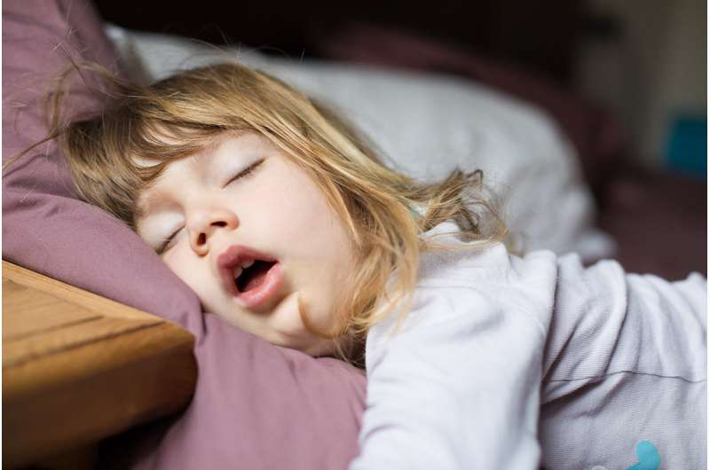 Toddler bedtime can switch on snooze