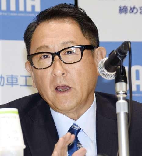 Toyota chief hopes to help Japan automakers keep tech edge