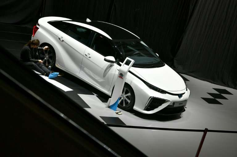 Toyota is the world's third largest car manufacturer