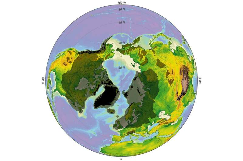'True polar wander' may have caused ice age