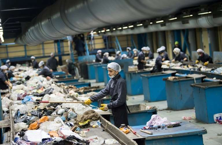 Turkey currently recycles about 11 percent of its waste annually but steps are under way to promote more recycling
