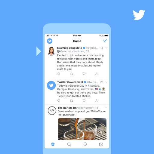 Twitter to add special labels to political candidates in US