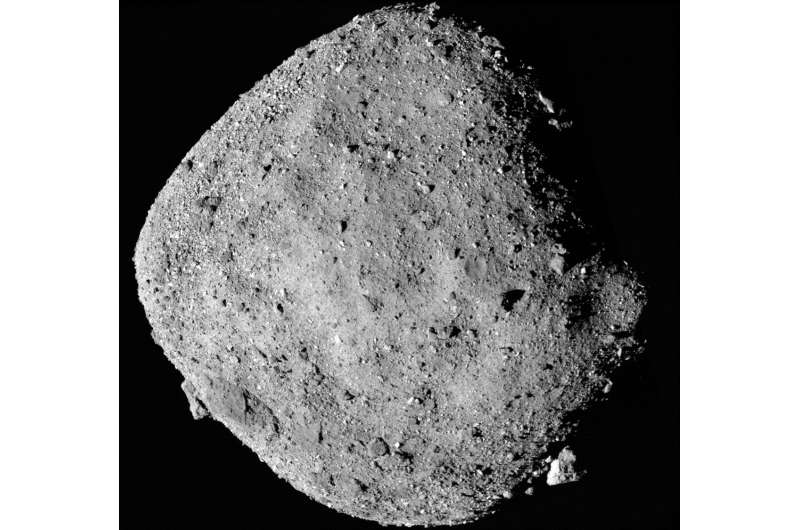 UA-led OSIRIS-REx discovers water on asteroid, confirms Bennu as excellent mission target