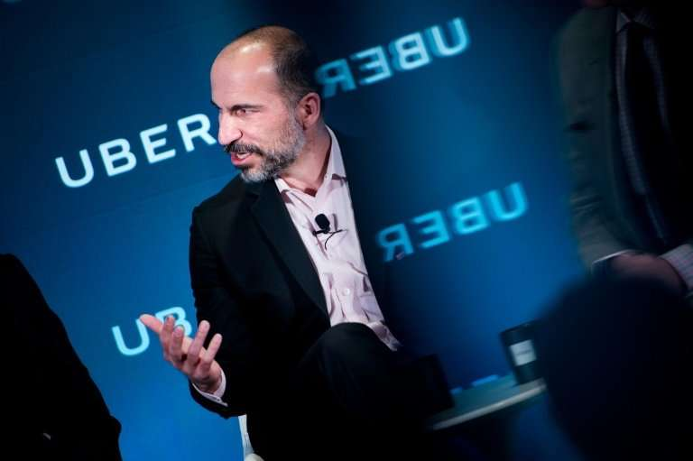 Uber CEO Dara Khosrowshahi during a visit to Washington DC outlined plans to allow its mobile app to be used for mass transit, b