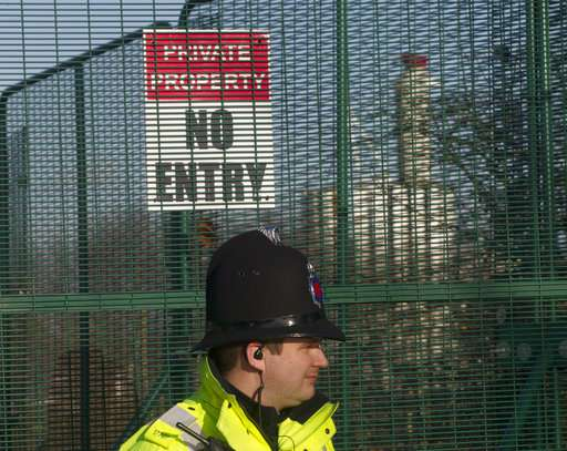 UK fracking firm Cuadrilla pauses drilling after tremor