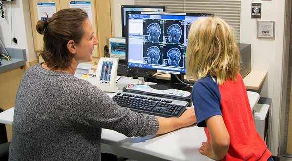 Unique patterns of neural communications found in brains of children with autism