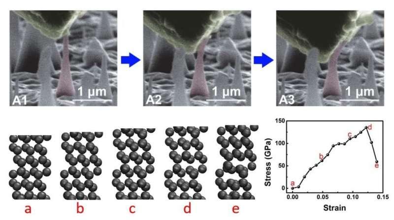 UNIST introduces novel method to grow elastic diamonds