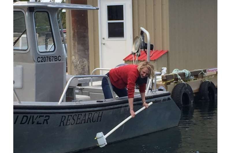 Using DNA technology to track marine life