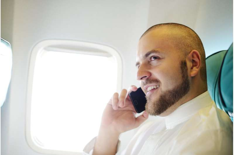 Using your phone on a plane is safe – but for now you still can't make calls