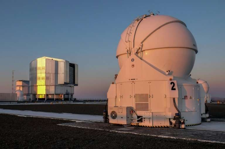 View of the observatory in Paranal, northern Chile, where the most precise spectrograph, known as Espresso, will work with large