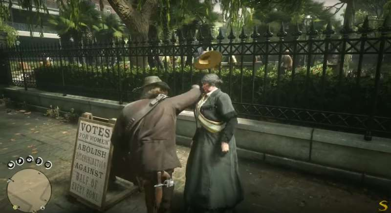 Violence toward women in the video game Red Dead Redemption 2 evokes toxic masculinity