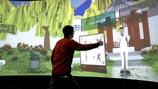 Virtual learning: using AI, immersion to teach Chinese