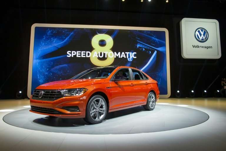 Volkswagen introduces the new Jetta at the 2018 North American International Auto Show Press Preview in Detroit, Michigan on Jan
