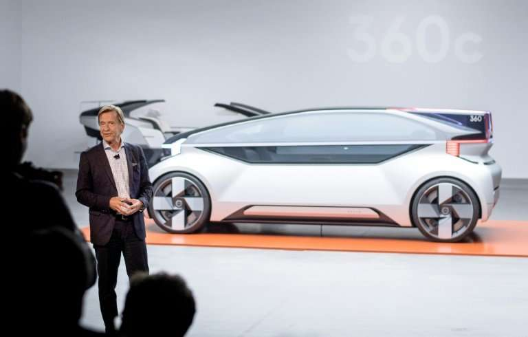 Volvo Cars CEO Hakan Samuelsson says the US-China trade war means the company cannot go through with plans to go public