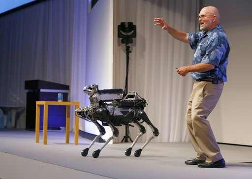 Walking robots, a YouTube sensation, get ready for market