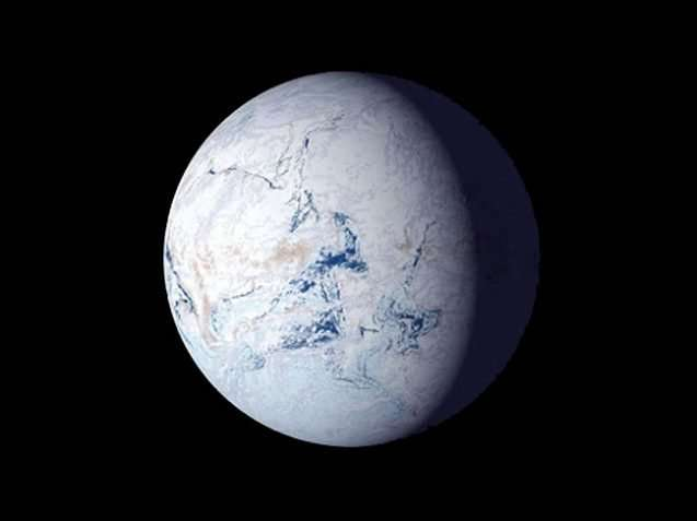 Was the Earth ever frozen solid?