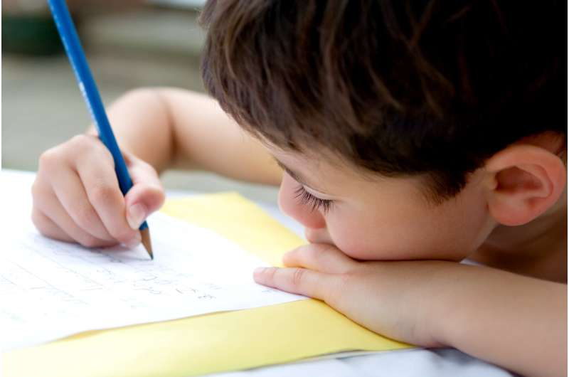 We can't say if touchscreens are impacting children's handwriting - in fact, it may be quite the opposite