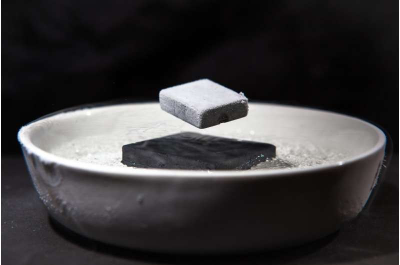 Weird Superconductor Leads Double Life