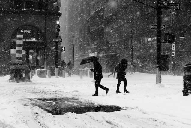 What do cold snaps have to do with climate change?