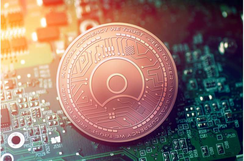 What is a blockchain token?