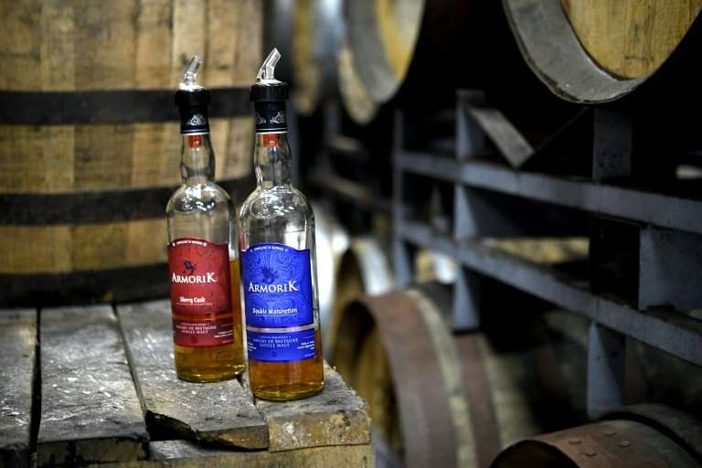 Whisky-maker Warenghem in Brittany is one of 33 fully-operational distilleries of the golden liquid in France