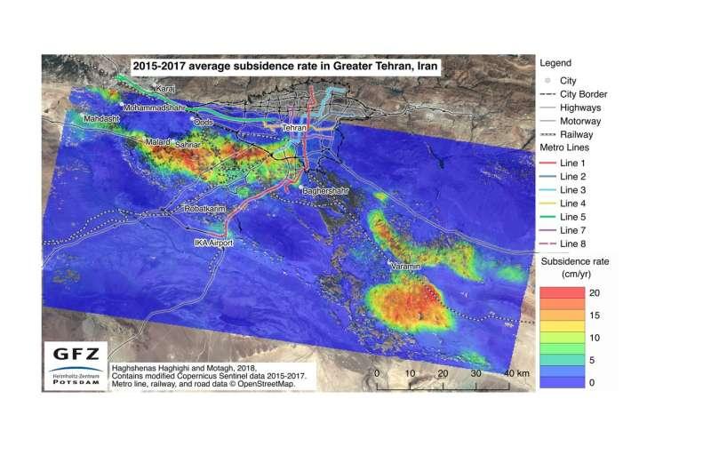 Why Tehran is sinking dangerously