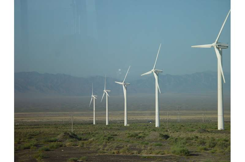 Widespread decrease in wind energy resources found over the Northern Hemisphere