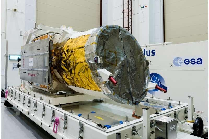 Wind satellite shows off