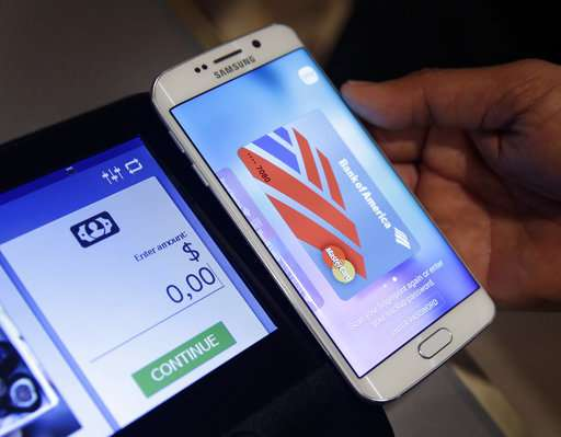 With mobile pay, you can go without a wallet at checkout