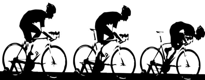 Your riding position can give you an advantage in a road cycling sprint, research shows