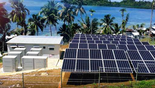 Zinc-air batteries provide power in remote areas