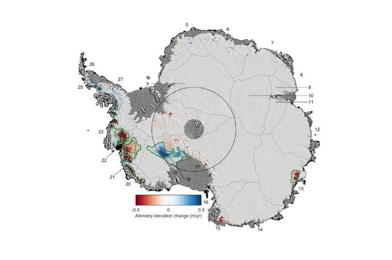 24% of West Antarctic ice is now unstable