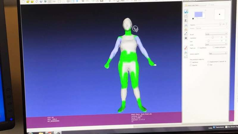 3-D technology might improve body appreciation for young women