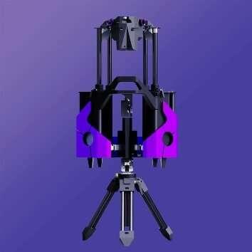 A 3-D printed telescope—the analog sky drifter