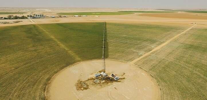 Las imágenes aéreas de la altura de las plantas podrían ayudar a los agricultores a gestionar los cultivos de campo de forma más eficaz
