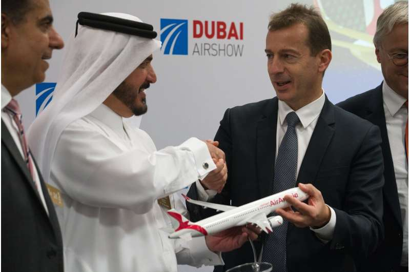 Airbus nails $30B in new plane orders at Dubai Airshow